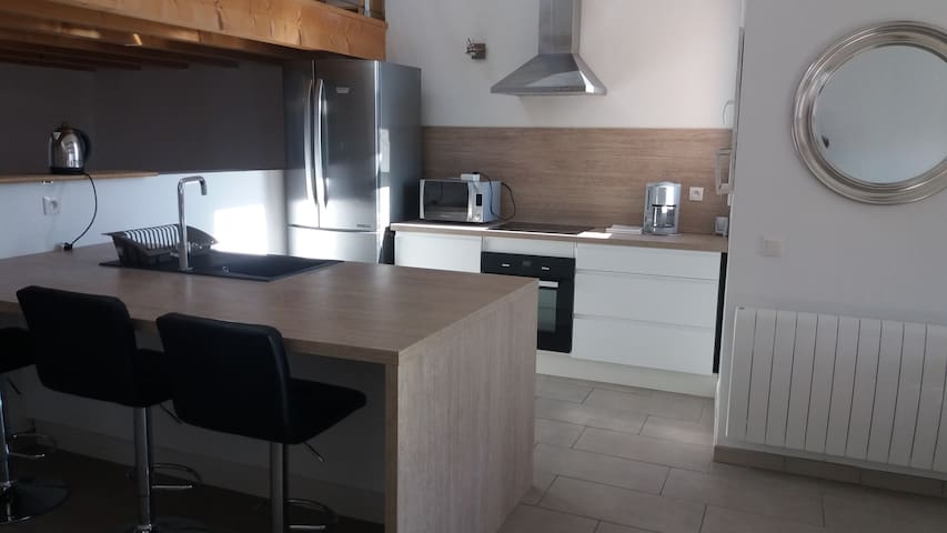 Appartement idéal cures et vacances, accès wifi - Banyuls-dels-Aspres - Leilighet