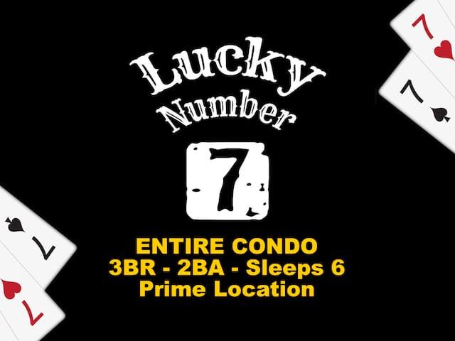 ♠ Lucky #7 ♣ Entire 3/2 Condo ♥ Boone ♦ - ★★★★★