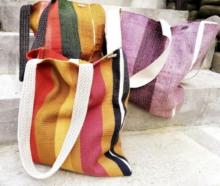 Tkané tašky MAYA
