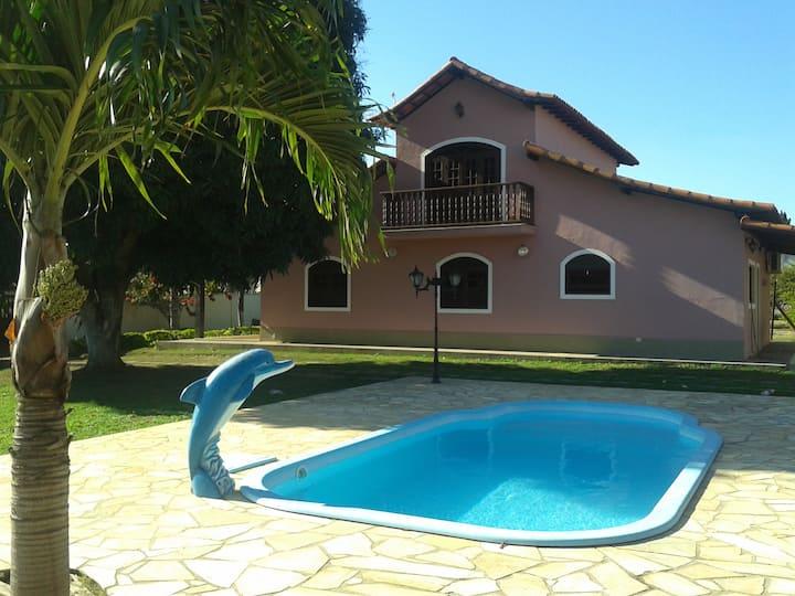 Casa Aconchegante Região dos Lagos-Charme e Beleza