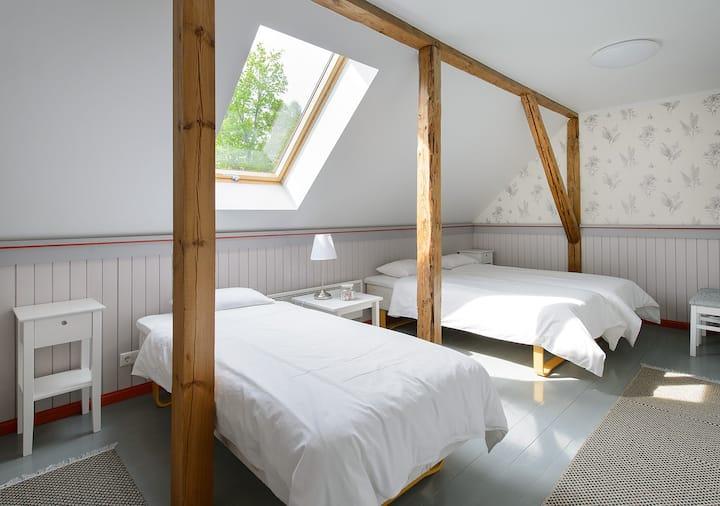 Guestroom in Vasekoja Holidaycentre