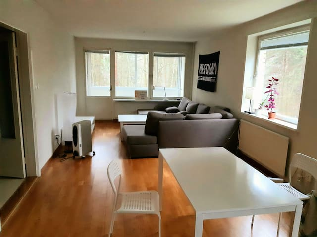 Shared apt. 10 min from Stockholm city