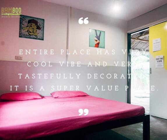 Sunny, Clean and Cozy AC Private Room (for 2) - Puerto Princesa - Bed & Breakfast