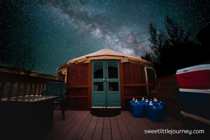 Stunning yurt property near Creede, Colorado