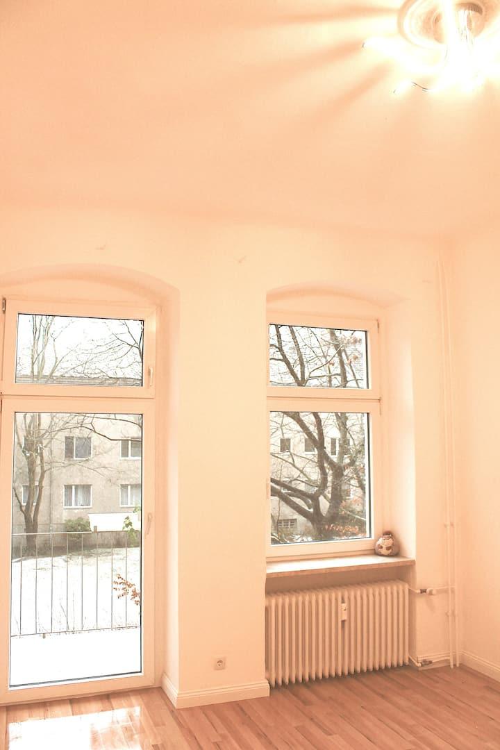 New renovated apartment,  quiet & sunny balcony