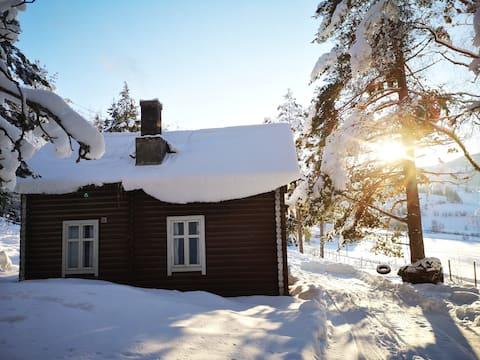 Cosy Log Cabin in the Norwegian Woods