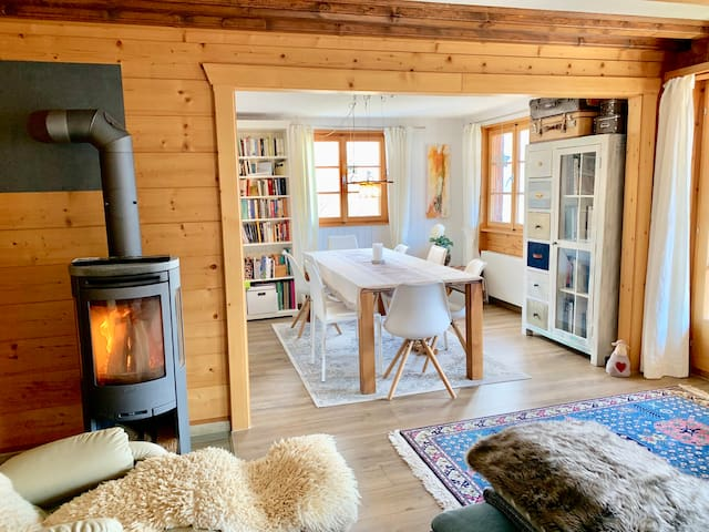 cosy Chalet with amazing views close to Belalp