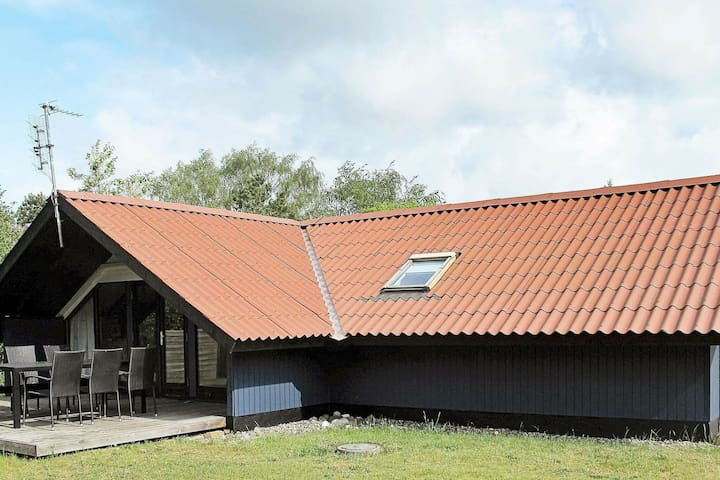 Roofed Holiday Home in Lolland with Terrace