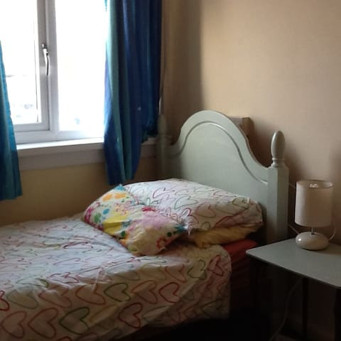 Small sunny single room close to city (1 mile)