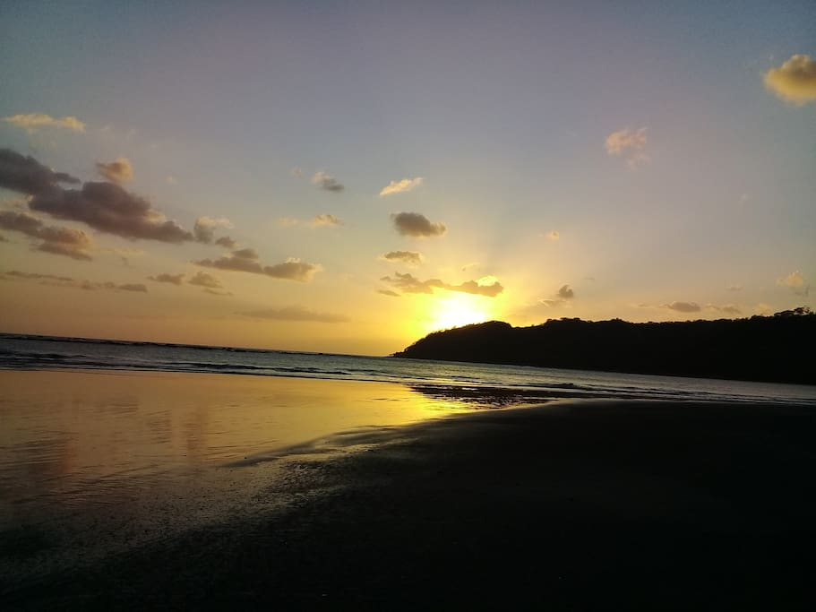 The only event than can possibly match a Playa Cambutal sunrise is a beautiful Playa Cambutal sunset.