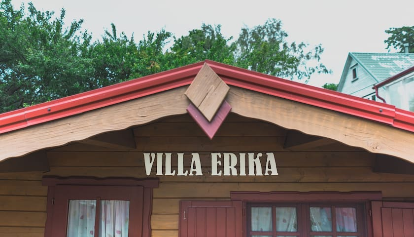Villa Erika next to the beach for 2+ - Pärnu