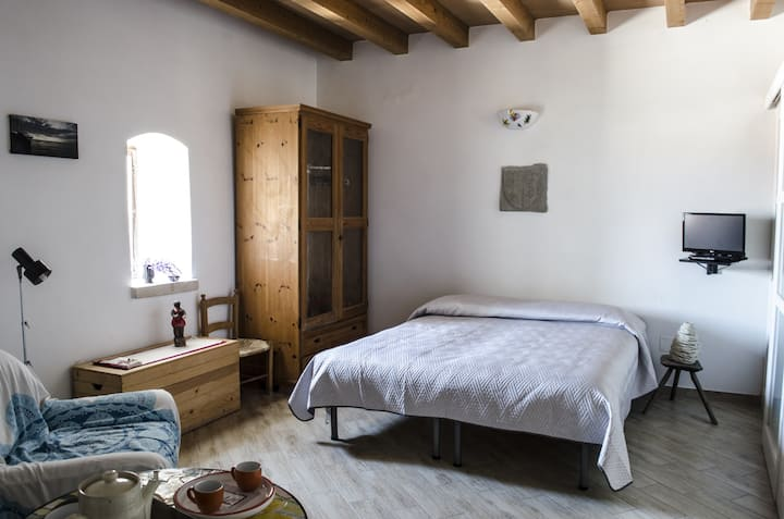 Double Room in a Medieval Tower