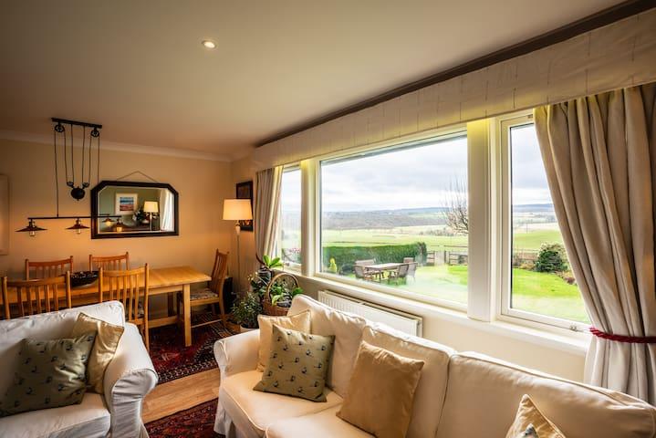 Beautiful house, stunning views near Loch Lomond