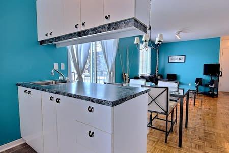 Appartement 1 chambre avec cuisine complete - Montréal - Apartment