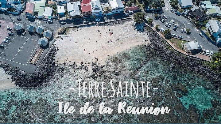 """MEUBLÉ TOURISTIQUE à 50m de la plage """"CHEZ CÉLINE"""""""