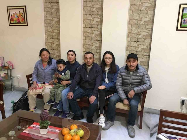 Stanzin & his amazing family from Ladakh