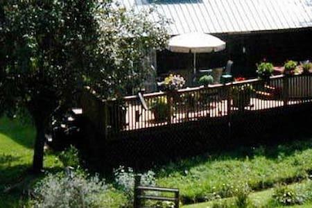 March-Mandess Creek-Cedar Cabin, Fireplace, HotSpa - Glenville - Kulübe