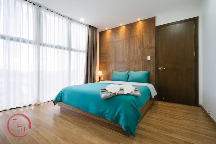 Zen's home, 5★ location, luxury apartment 3BR