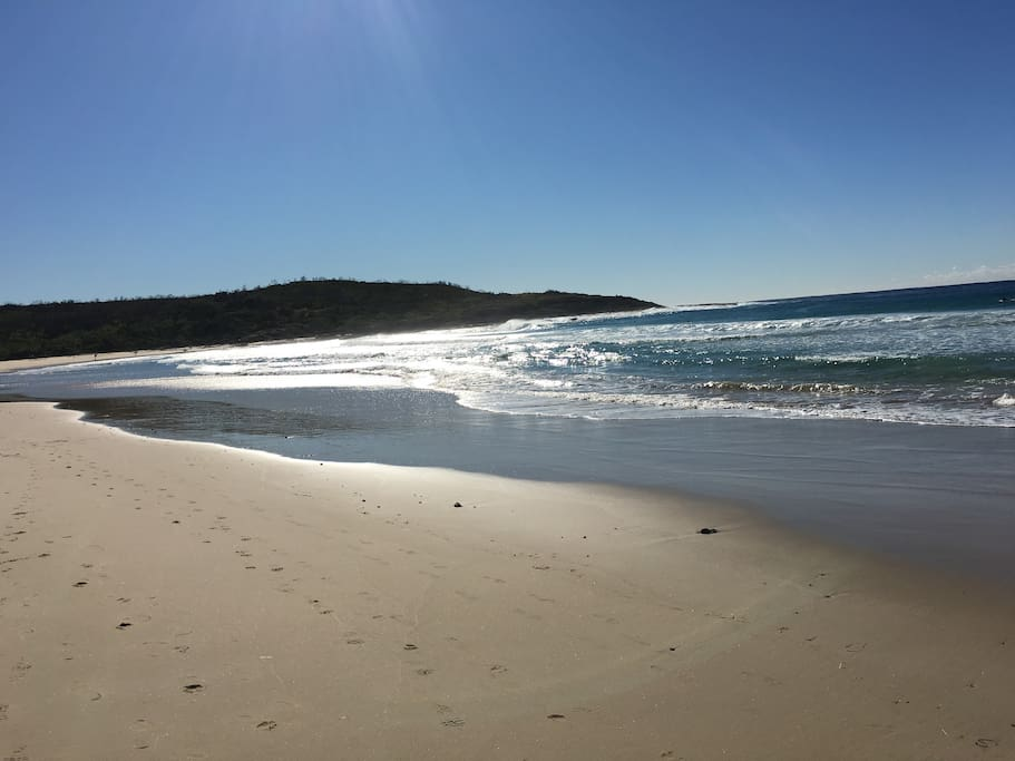Moonee Beach - 10minute slow walk from The Bay Beach House