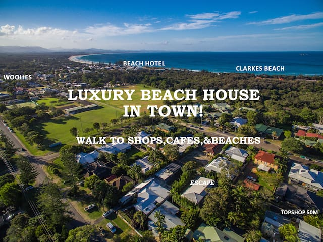 Escape@ByronBay - Ultimate Town Location