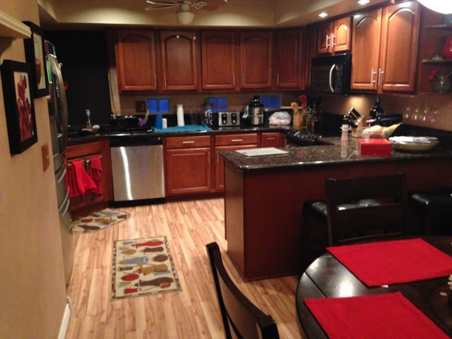 Kitchen with all the amenities.