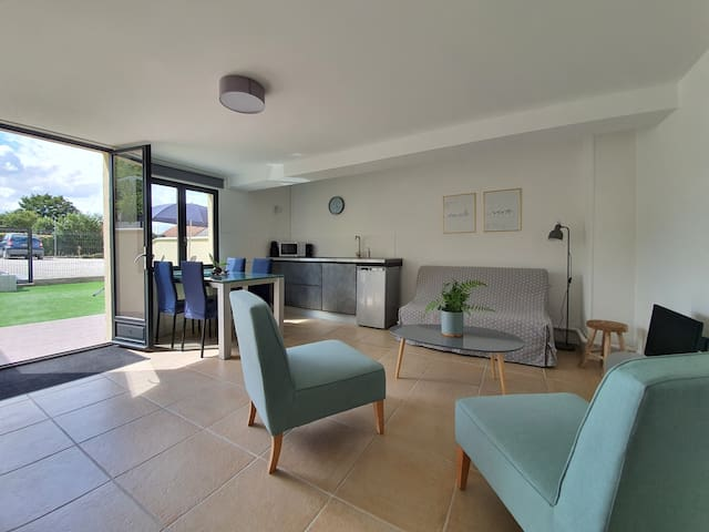 Appartement calme avec jardin proche Fontainebleau