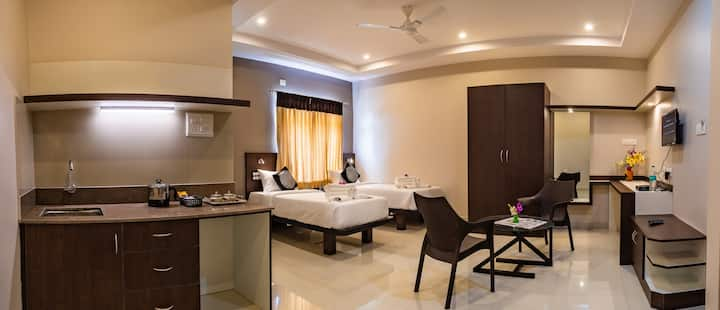 Aadya Elite Premium Twin Room