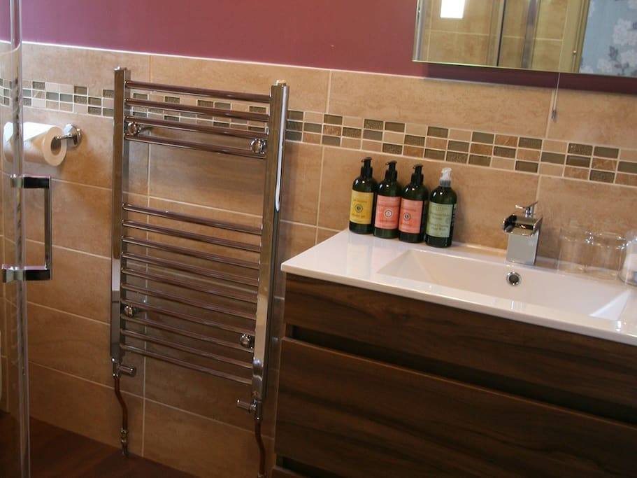 The Keats en-suite Shower room