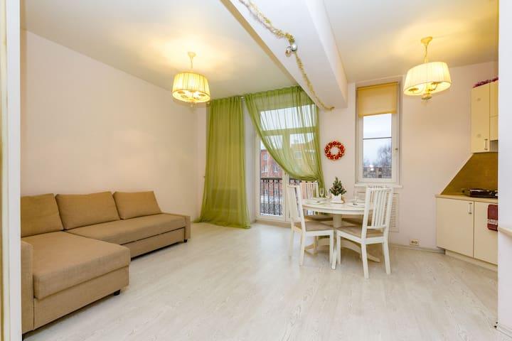 2-х комнатная квартира в стиле ретро в Центре