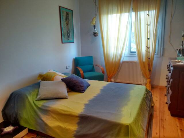 Private double room M close to the beach - Valveralla - Wikt i opierunek