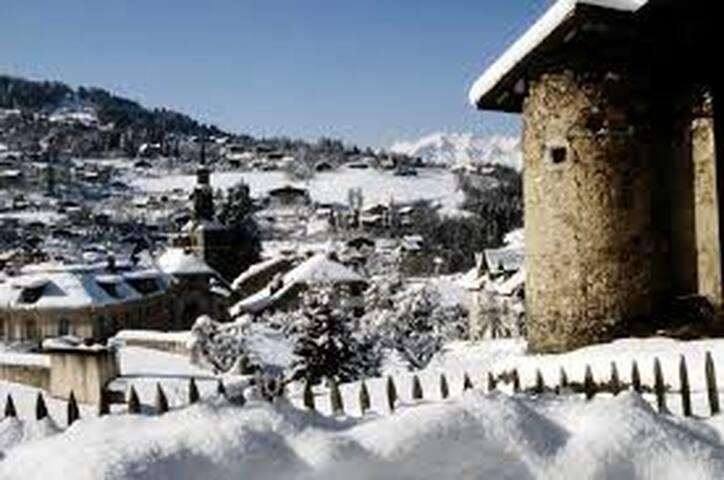 Le village de St Gervais