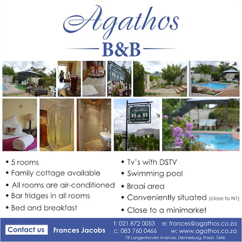 Paarl Bed And Breakfast