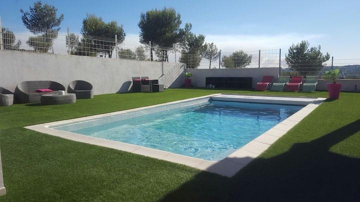 Très beau T3 60m2, piscine