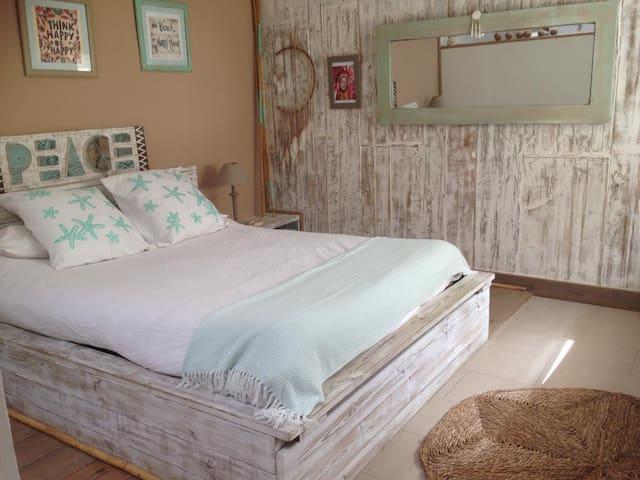 Preciosa habitación zen con baño privado
