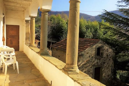Beautiful medieval Tuscan house! Sleeps 10+ - Colle di Cerignano - บ้าน