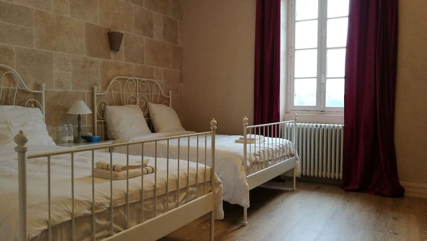 Chambre dans le Château de l'Estang