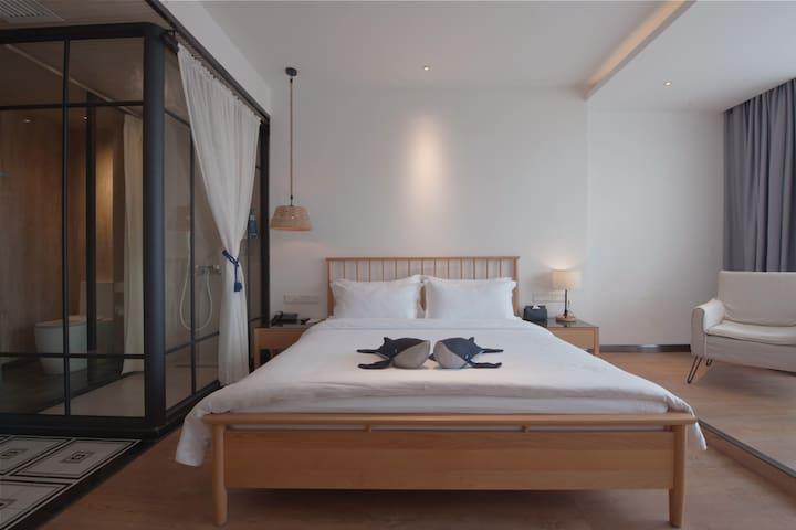 图南·枕诗而眠·艺术空间·静享时光·尽享惬意生活大床房(二)