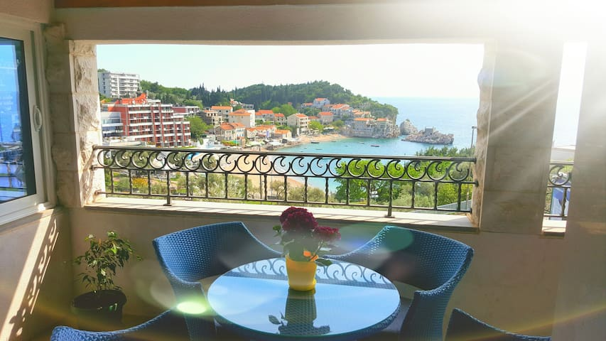 Rino Lux - One Bedroom Apartment with Sea View 11 - Budva - Huis