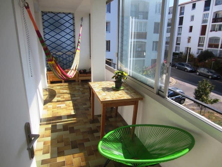 Appartement 3 chambres terrasse ensoleillée