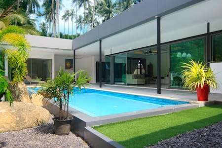 Tawan villa  3 bed room  pool cozy and cool... - Ko Samui Lamai