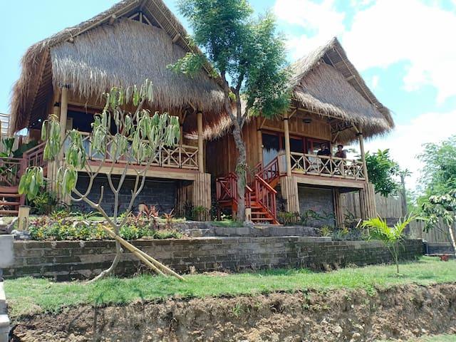HideOut Menjangan - Eco Bamboo home