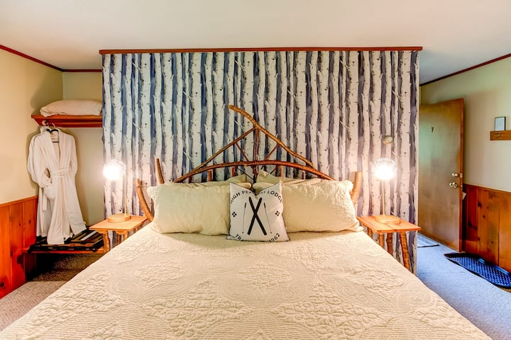 Aspen Room, King Bed, Bath, Breakfast, Stowe VT