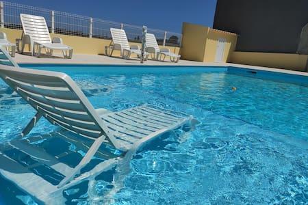 Refúgio da Ria com piscina