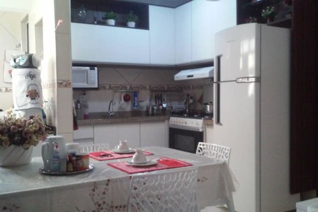 Cozinha - Cafe da manha