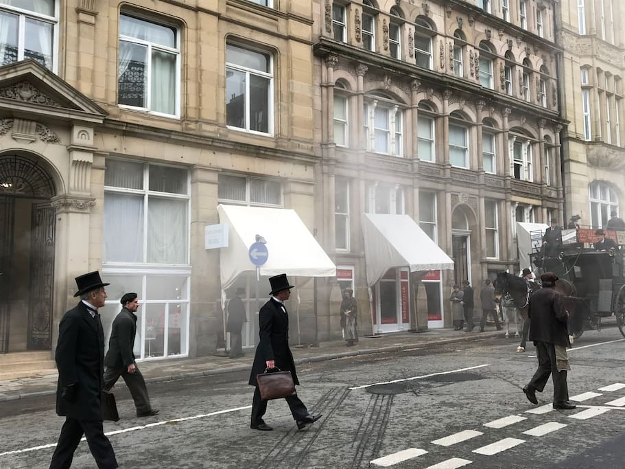 Interesting Fact: Filming outside for BBC War of The Worlds in Apr 2018