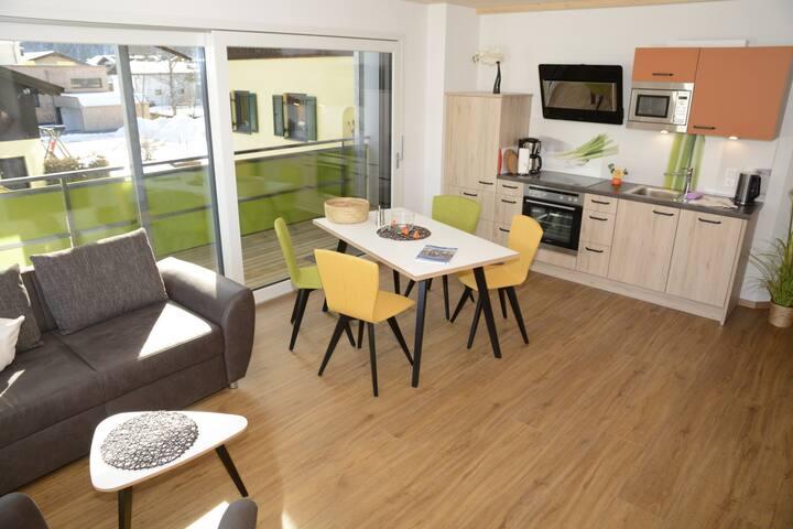 Apartment für 1-4 mit Balkon - Ehenbichl