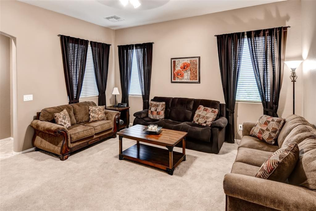 You'll have plenty of room to spread out and unwind in this home's beautiful, spacious interior