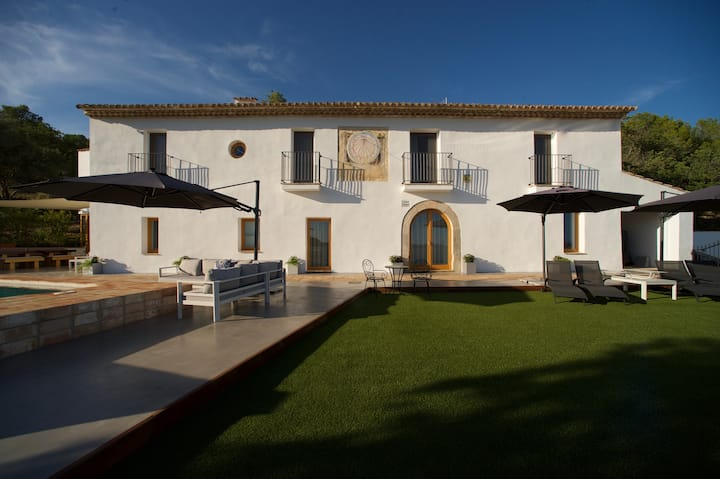 Weekends Available in this Newly Restored Masia