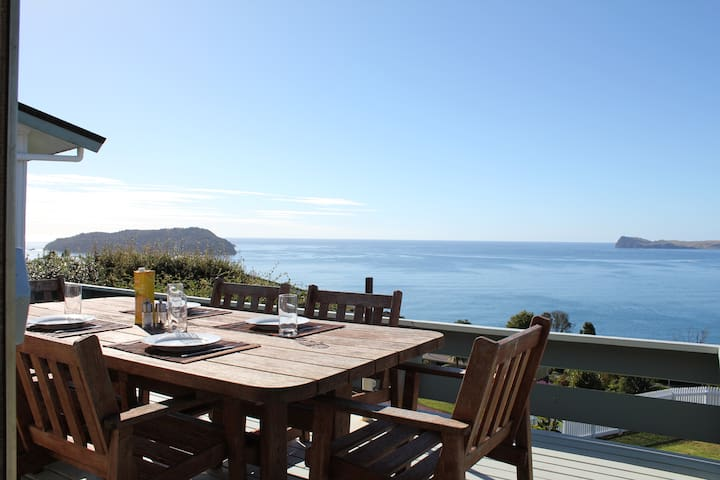 Tairua Escape Mt Paku, Coromandel NZ - Sleeps 4
