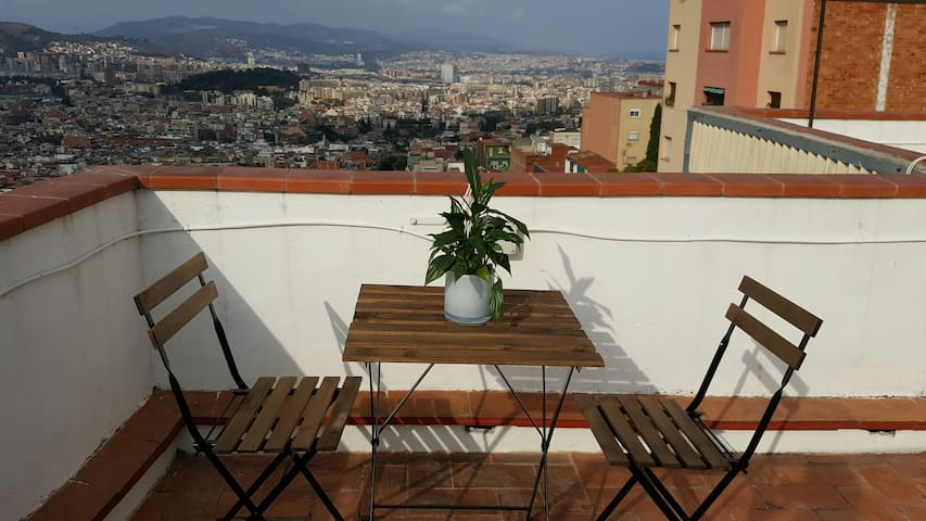Double room in Barcelona, close to Park Guell - Barcelona - Apartamento